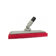 Flexible Head Scrubber with Red Pad