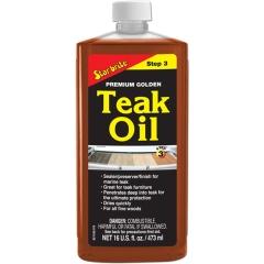 Star Brite 085116PW Premium Golden Teak Oil -16 oz.