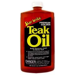 Star Brite 085132 Premium Golden Teak Oil - 32 oz.