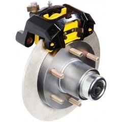 12 in. G5 Stainless Disc Brake Assembly