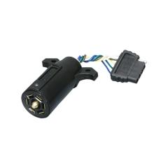 7-Way Blade to 5-Way Flat Trailer Adapter