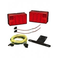 LED Trailer Light Kit with 25 ft. Wiring Harness