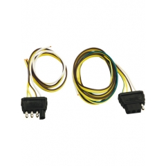 18 in. 4-Way Flat Trailer End Wire Harness