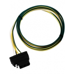 4-Way Flat Car End 4 ft. Wiring Harness
