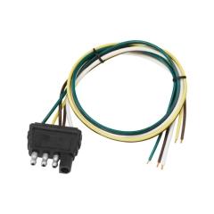 Wishbone 18 in. 4-Way Flat Trailer Wire Harness